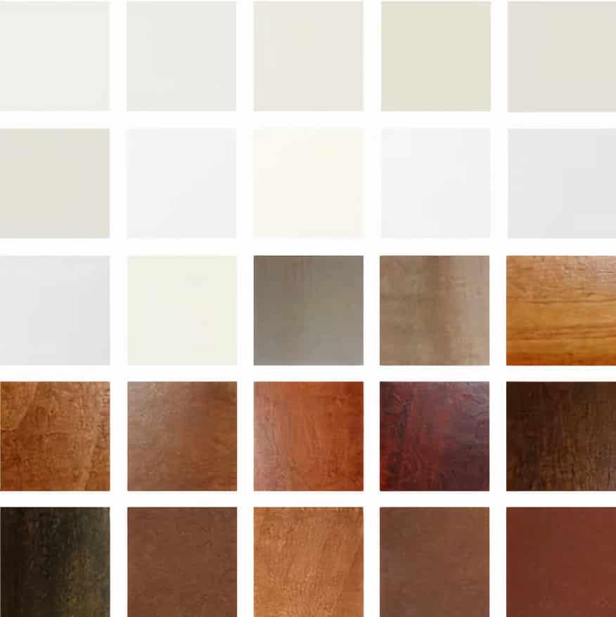 Hardwood Shutter Colours